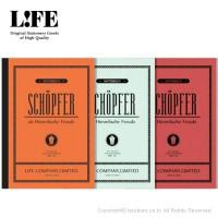 라이프 SCHÖPFER[쇼퍼]노트 B5 (N60-방안,N62-라인,N61-무지)